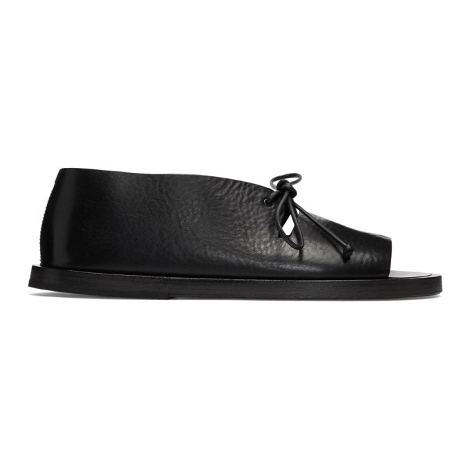 Photo: Marsell Black Lace-Up Sandals