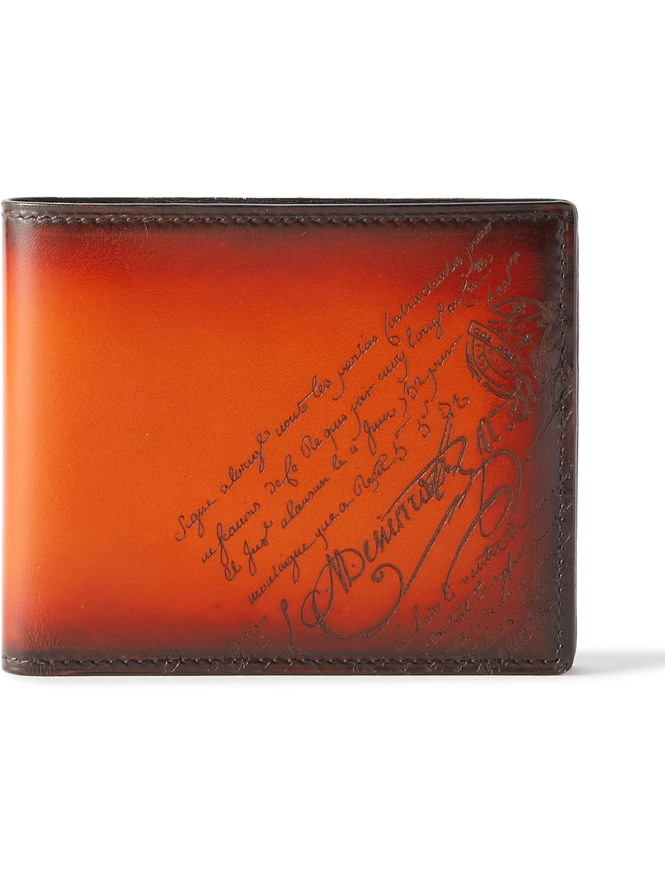 Photo: Berluti - Scritto Leather Billfold Wallet