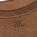 RRL - Roughout Leather Cardholder - Brown