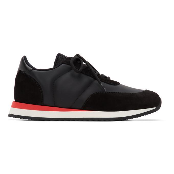 Photo: Giuseppe Zanotti Black Jimi Running Sneakers