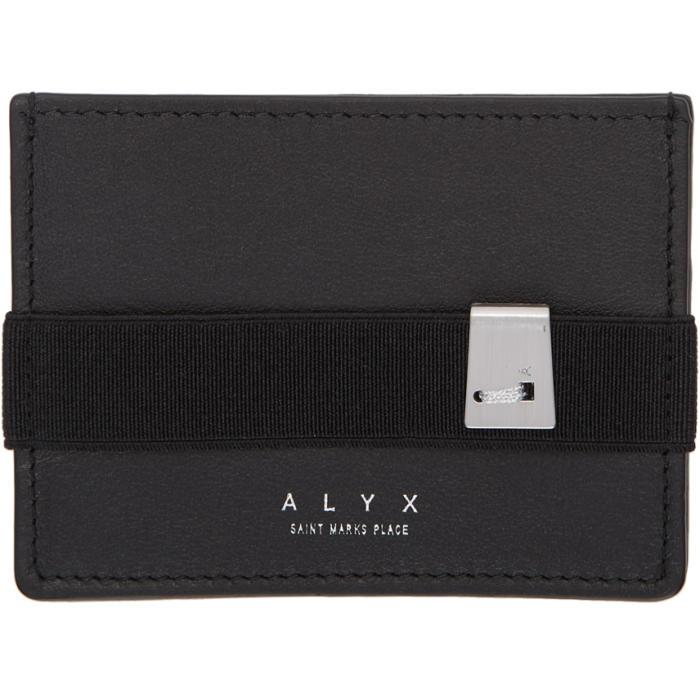 Photo: Alyx Black Leather Card Holder