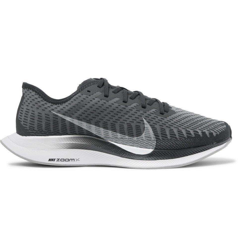 Photo: Nike Running - Zoom Pegasus Turbo 2 Mesh Running Sneakers - Gray