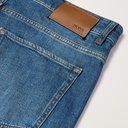 HUGO BOSS - Delaware Slim-Fit Stretch-Denim Jeans - Blue