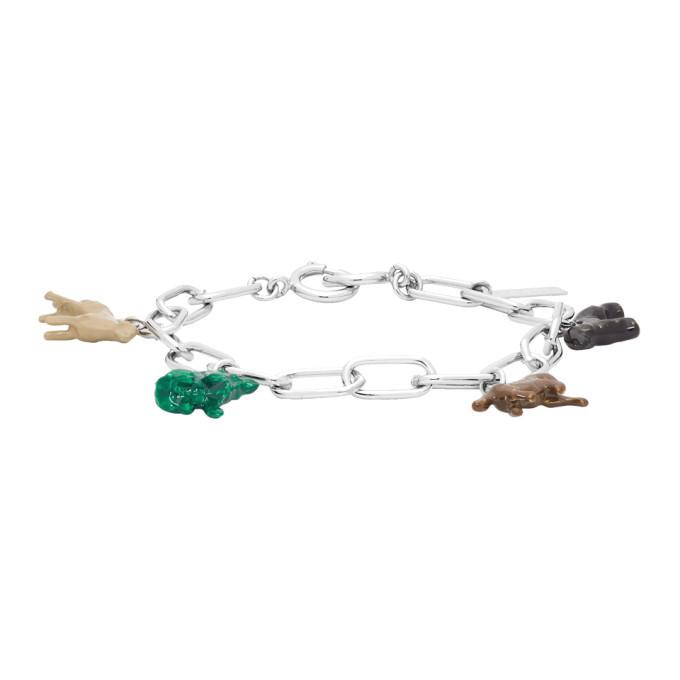 Photo: Marni Silver Animal Charm Bracelet