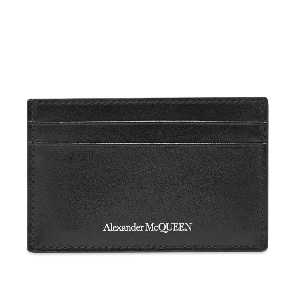 Photo: Alexander McQueen Leather Logo Card Holder