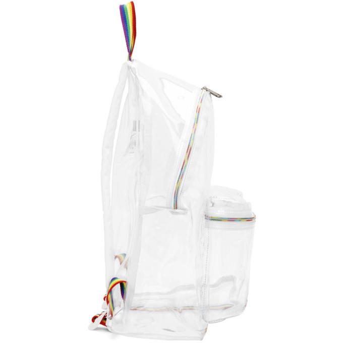Eastpak Transparent Limited Edition ILGA World Pride Edition Pakr Backpack