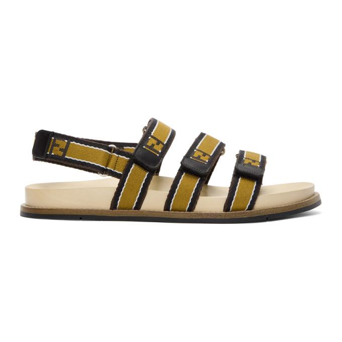 Photo: Fendi Brown Forever Fendi Sandals