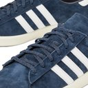 ADIDAS ORIGINALS - Campus 80s Leather-Trimmed Suede Sneakers - Blue