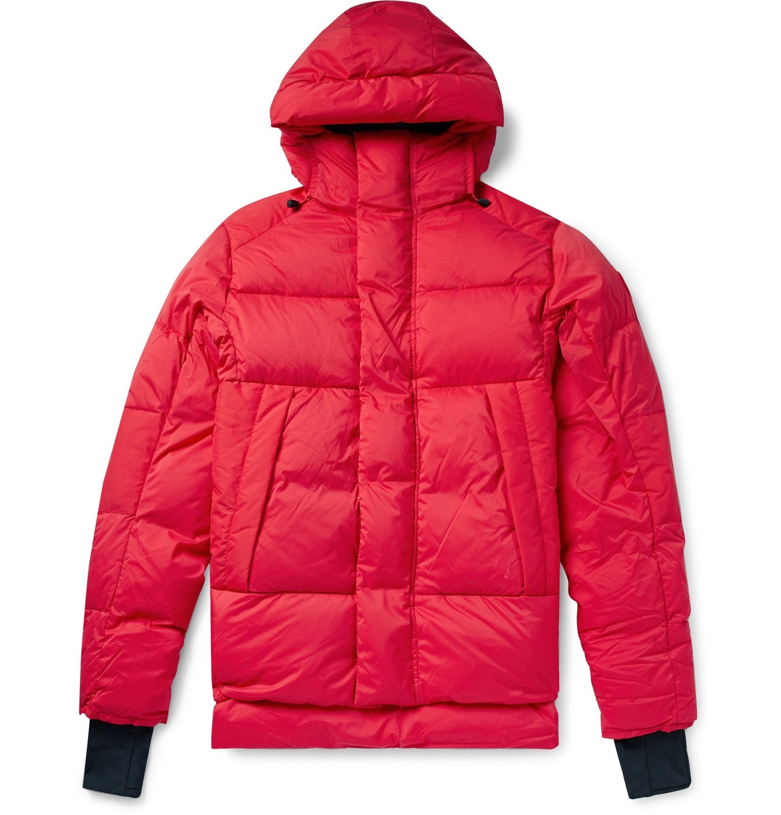 Photo: Canada Goose - Armstrong Packable Quilted Nylon-Ripstop Hooded Down Jacket - Red