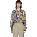 Martine Rose Multicolor Two-Piece Shirt