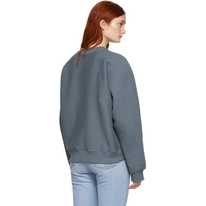 alexanderwang.t Grey Wash and Go Fleece Sweatshirt