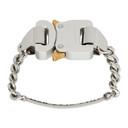 1017 ALYX 9SM Silver Buckle Bracelet