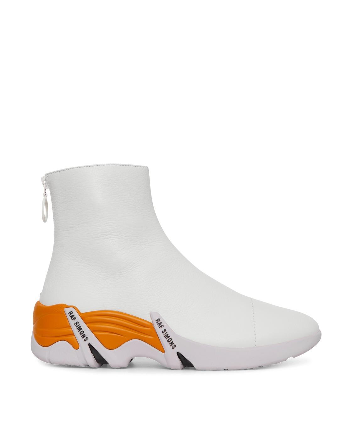Raf Simons Runner Cylon Boots White Multi
