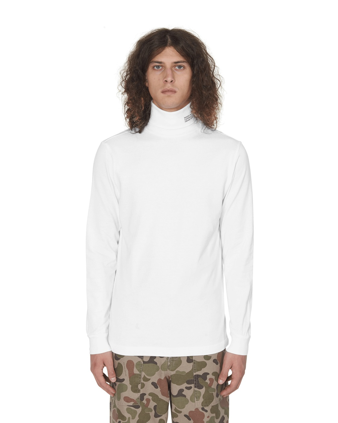 Photo: Wood Wood Austin Turtleneck Bright White