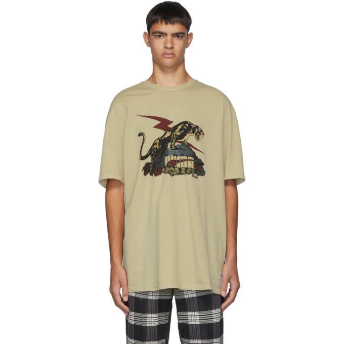 Photo: Rhude Beige Puma Edition Logo T-Shirt