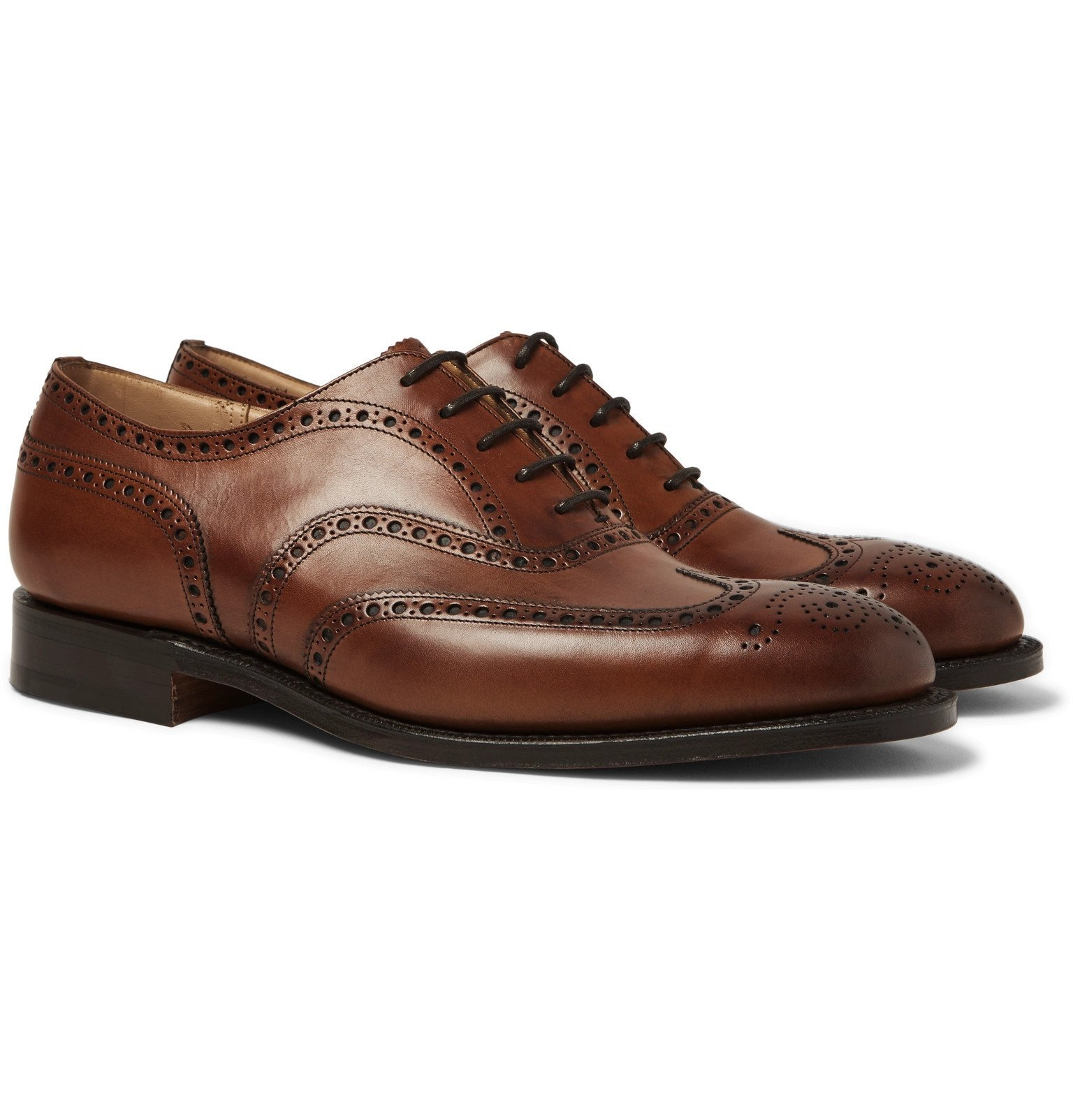 Photo: Church's - Chetwynd Leather Oxford Brogues - Brown
