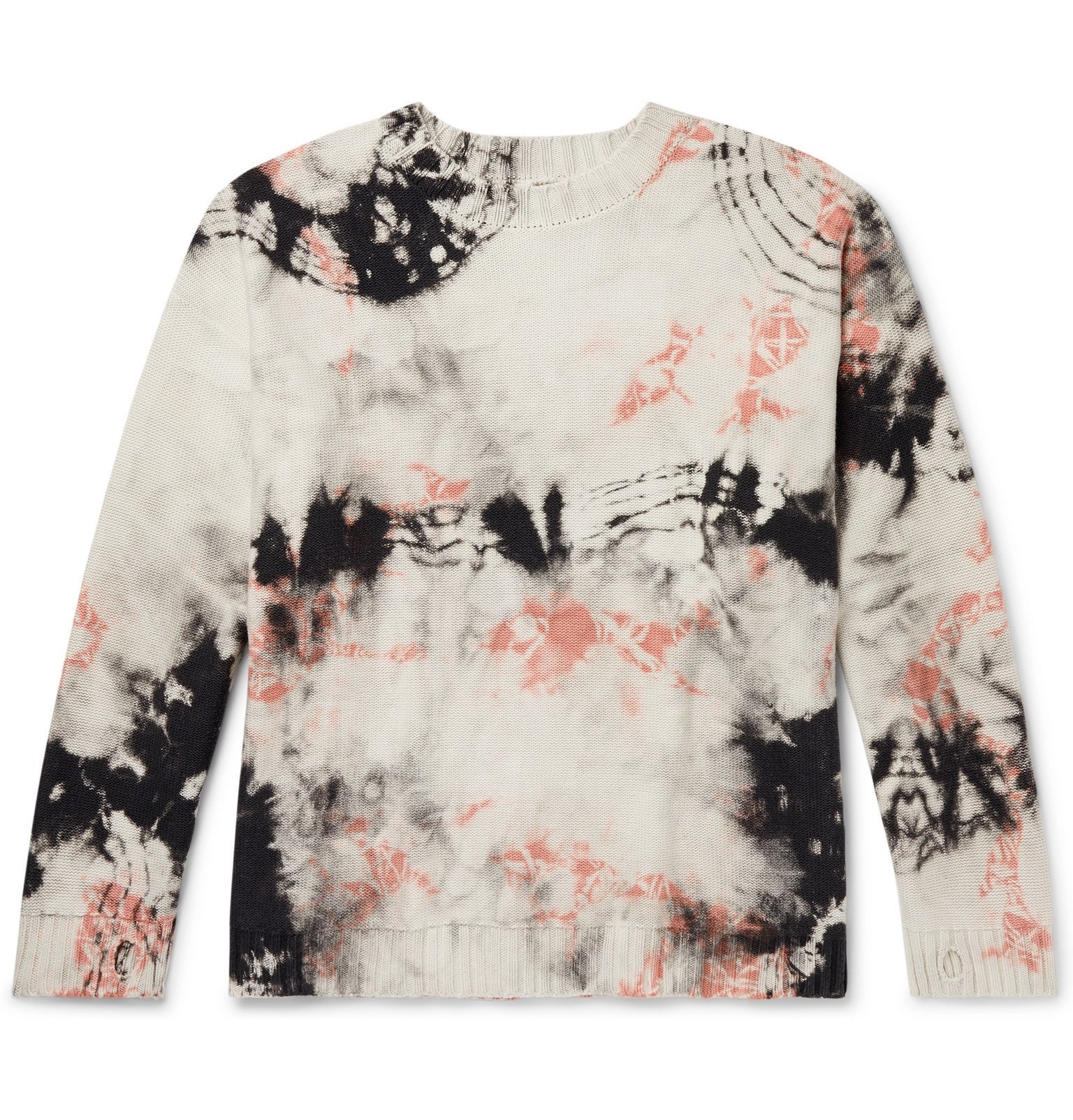Photo: KAPITAL - Ashbury Tie-Dyed Cotton Sweater - Black
