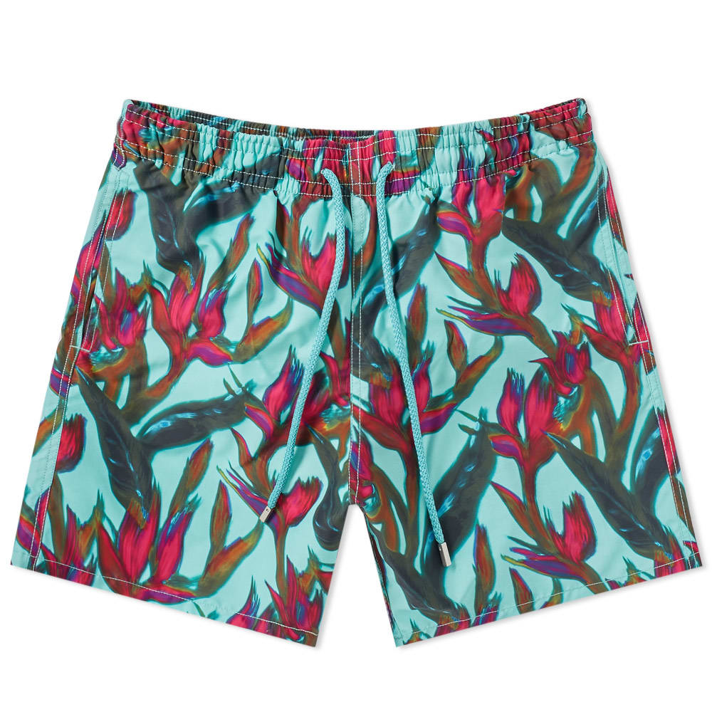 Photo: Vilebrequin Moorea Flower Print Swim Short