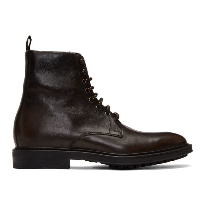Photo: Paul Smith Brown Arno Boots