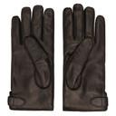 Dunhill Black Leather Duke Gloves