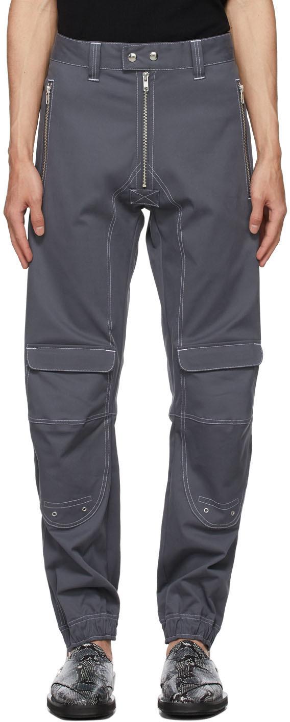 Photo: GmbH Grey Twill Yolanda Trousers