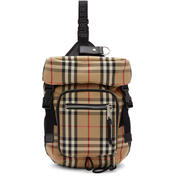 Photo: Burberry Beige Leo Belt Backpack