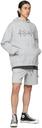Ksubi Grey 4 x 4 Trak Shorts