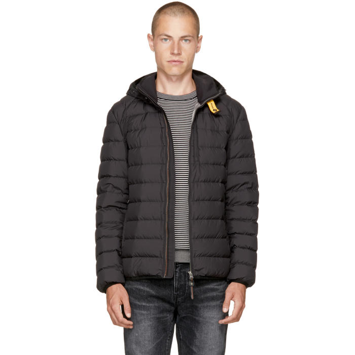 Parajumpers Black Super Lightweight Last Minute Jacket