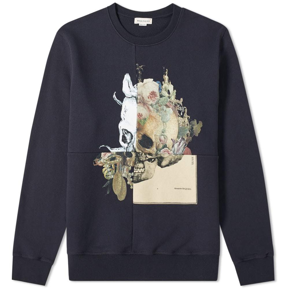 Photo: Alexander McQueen Patchwork Skull Sweat
