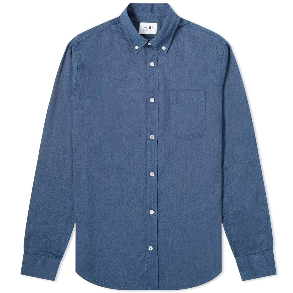 Photo: NN07 Levon Flannel Button Down Shirt