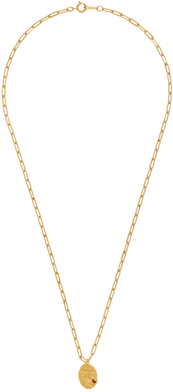 Photo: Alighieri Gold 'The Infinite Offering' Necklace