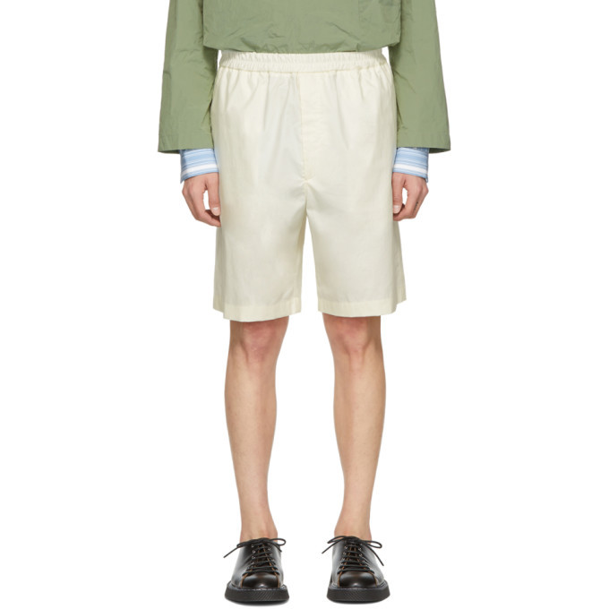 Photo: Jil Sander Off-White Sean Bis Shorts