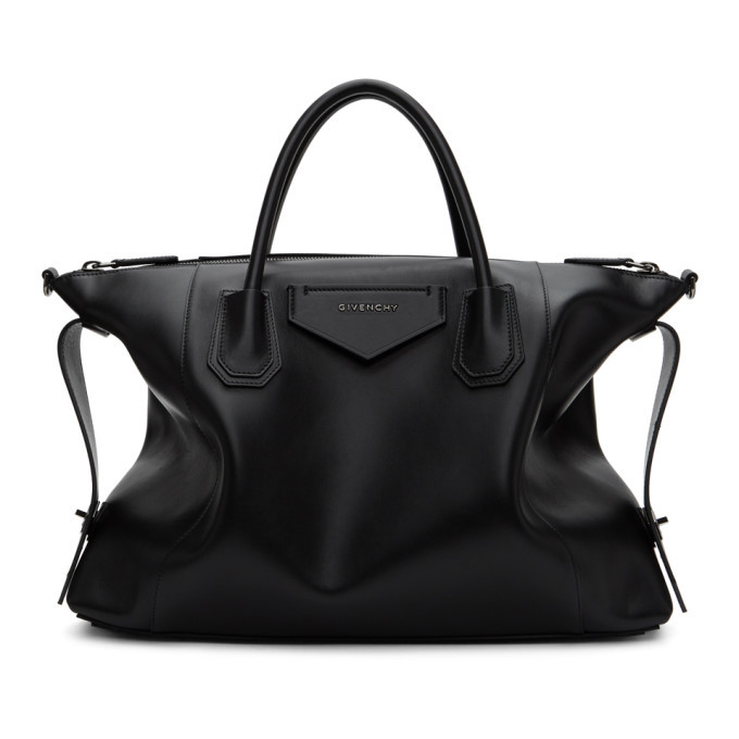 Photo: Givenchy Black Soft Medium Antigona Bag