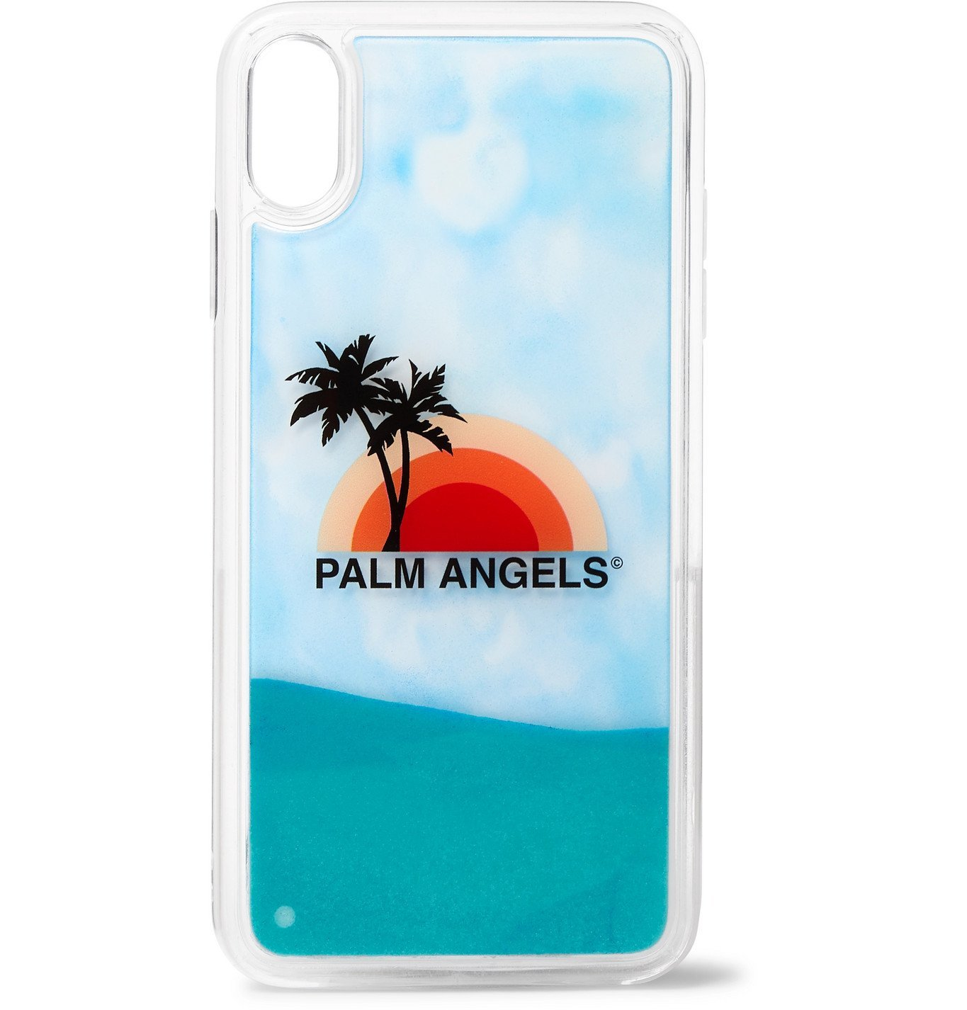 Photo: Palm Angels - Liquid Printed iPhone XS Case - White