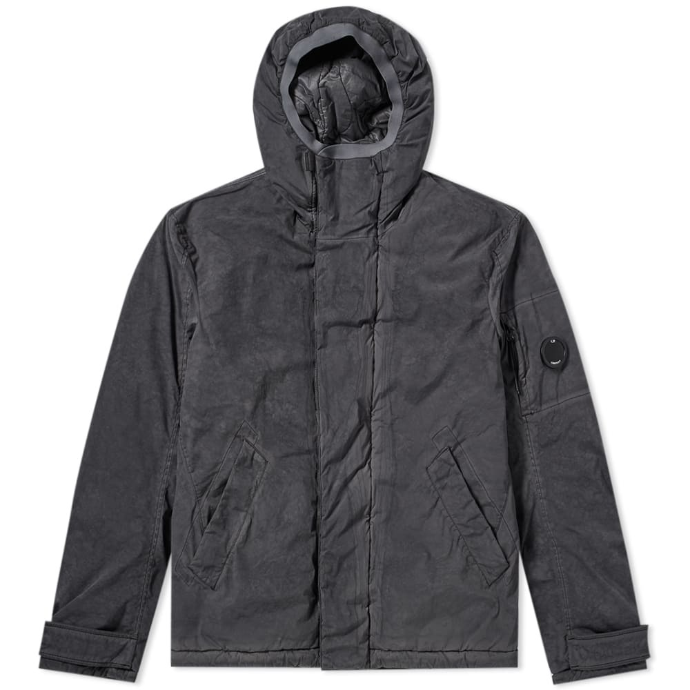 C.P. Company Hooded Re-Coloured Garment Dyed Lens Jacket