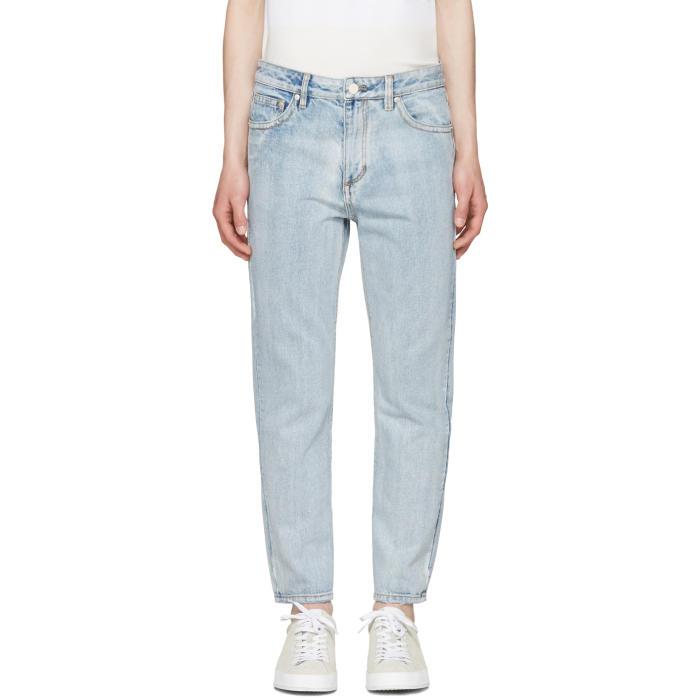 3.1 Phillip Lim Indigo Light Wash Jeans