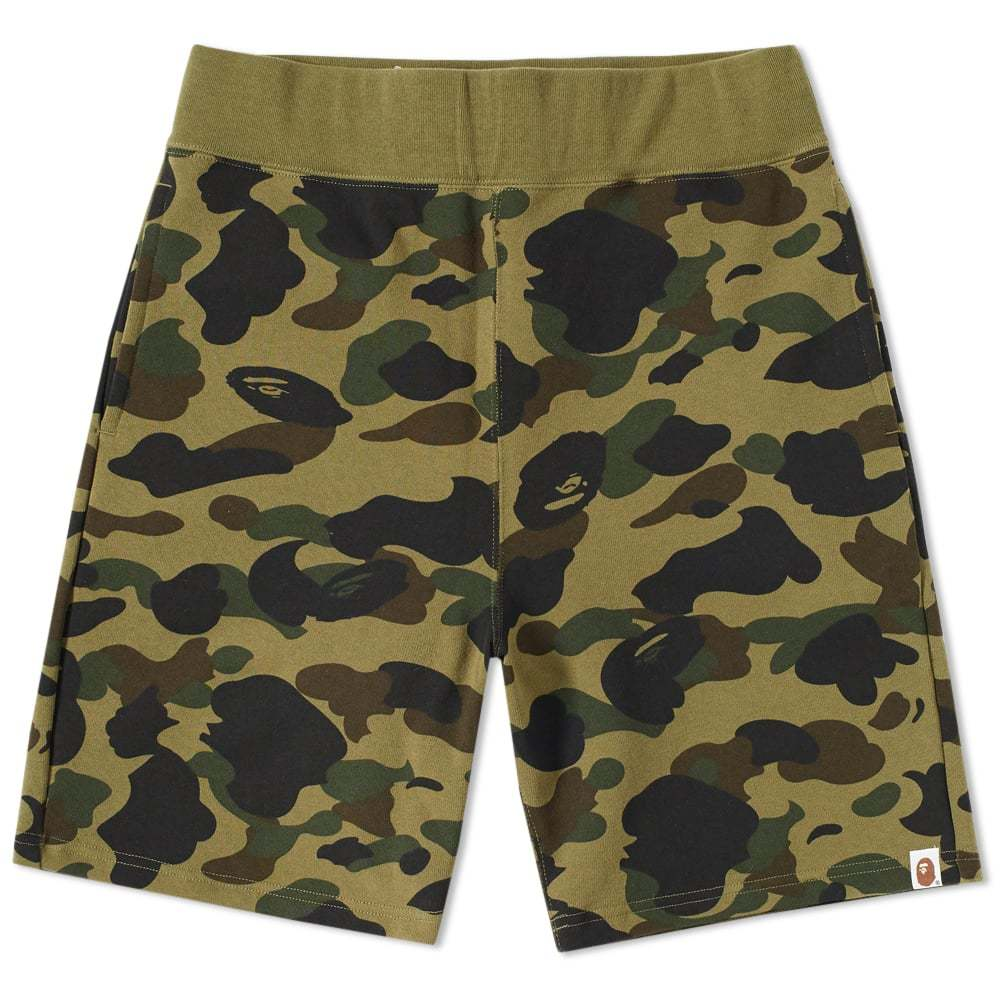 Photo: A Bathing Ape 1st Camo Sweat Short