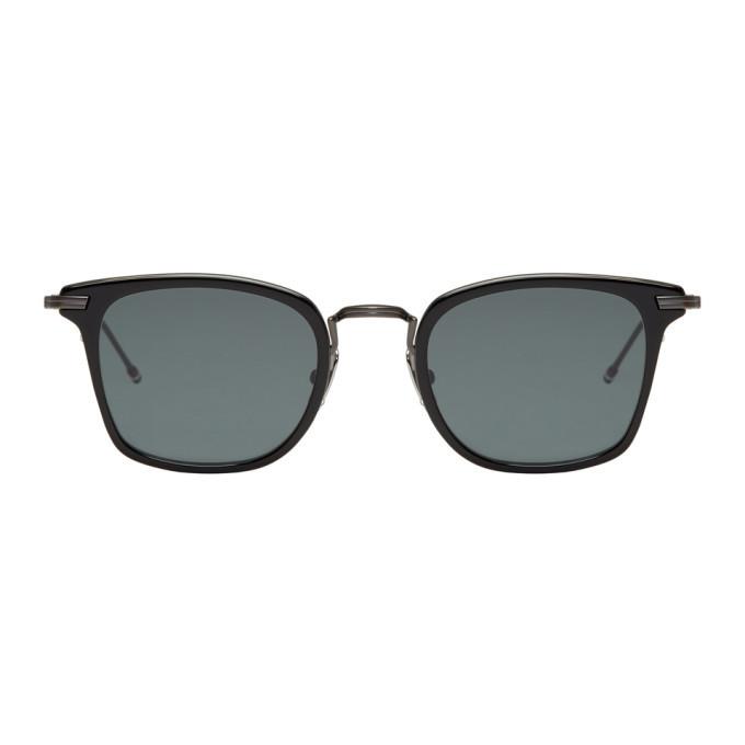 Photo: Thom Browne Black TB 905 Sunglasses
