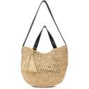 Stella McCartney Beige Crochet Bucket Bag