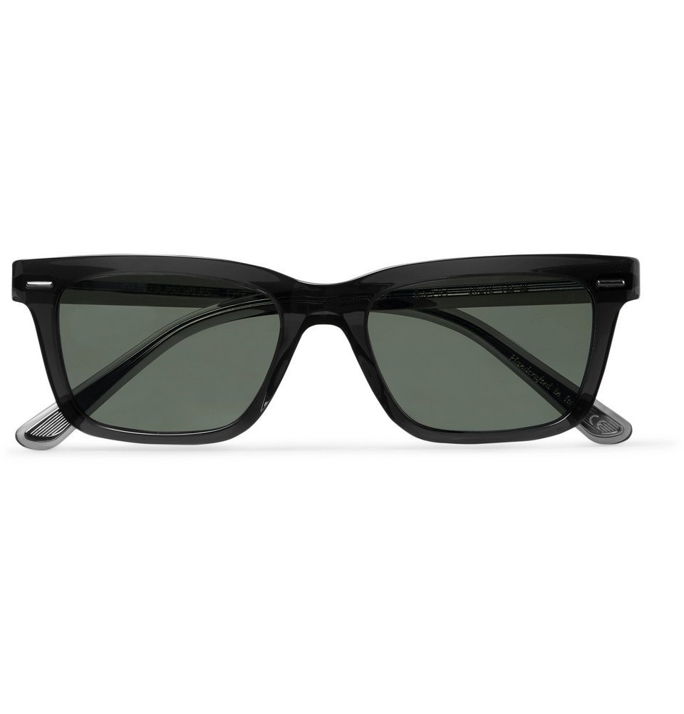 Photo: The Row - Oliver Peoples BA CC Square-Frame Acetate Polarised Sunglasses - Dark gray