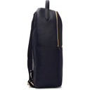 Smythson Navy Burlington Backpack