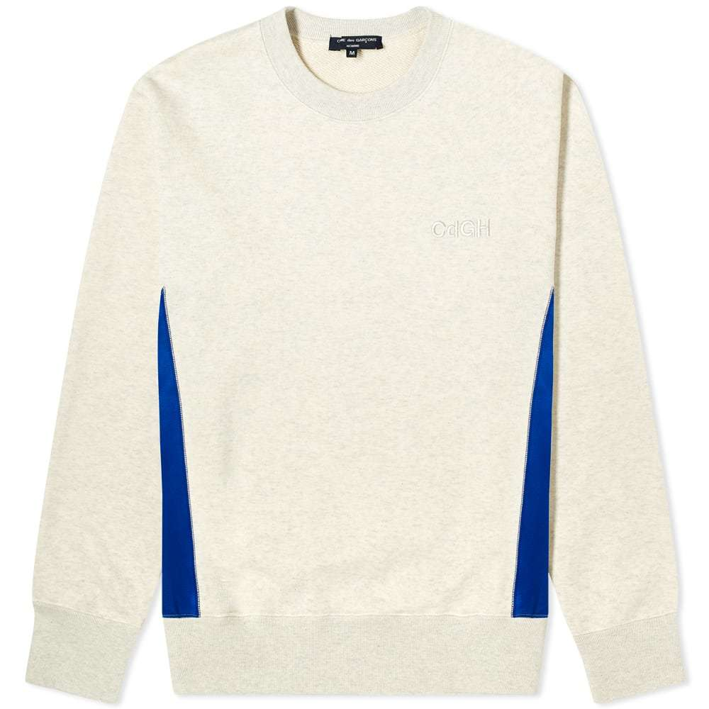 Photo: Comme des Garcons Homme Embroidered Logo Crew Sweat