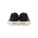 adidas Originals Black and White Nizza RF Sneakers