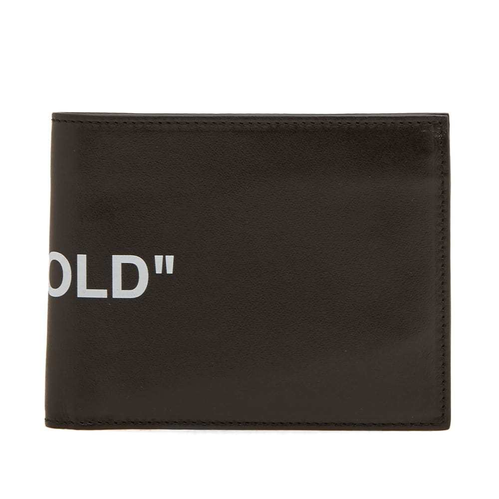 Photo: Off-White Quote Bifold Wallet