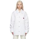 Acne Studios White Workwear Jacket