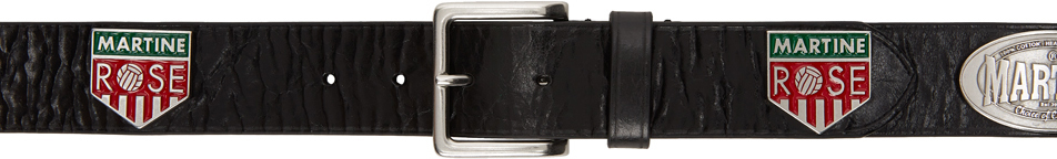 Photo: Martine Rose Black Leather Irn Belt