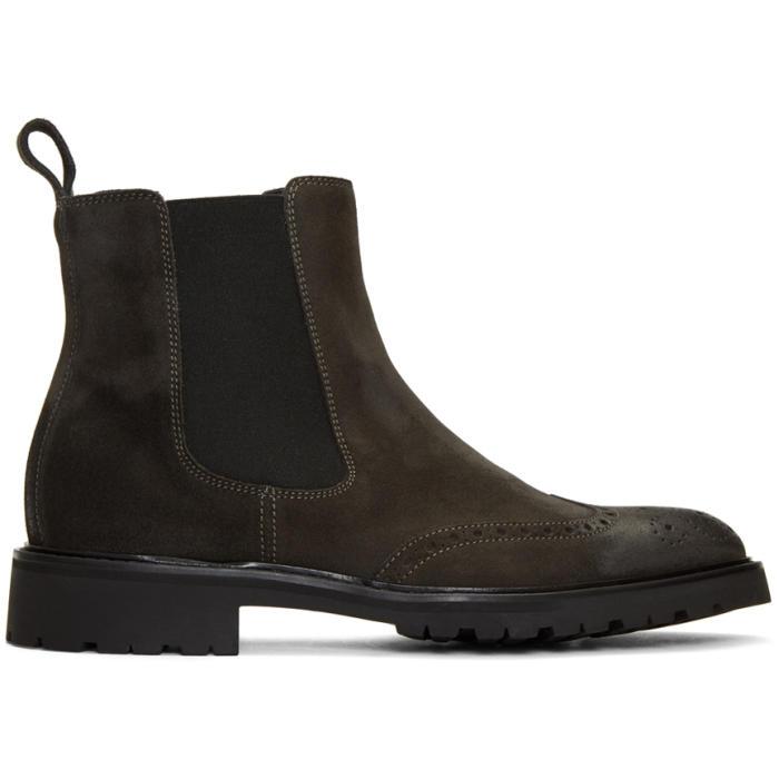 Photo: Belstaff Black Lancaster Chelsea Boots