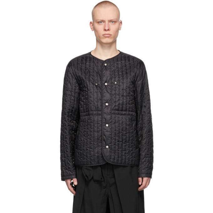 Photo: Craig Green Black Quilted Liner Jacket