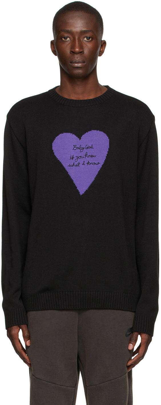 Photo: Awake NY Black Pullover 'Baby Girl' Sweater