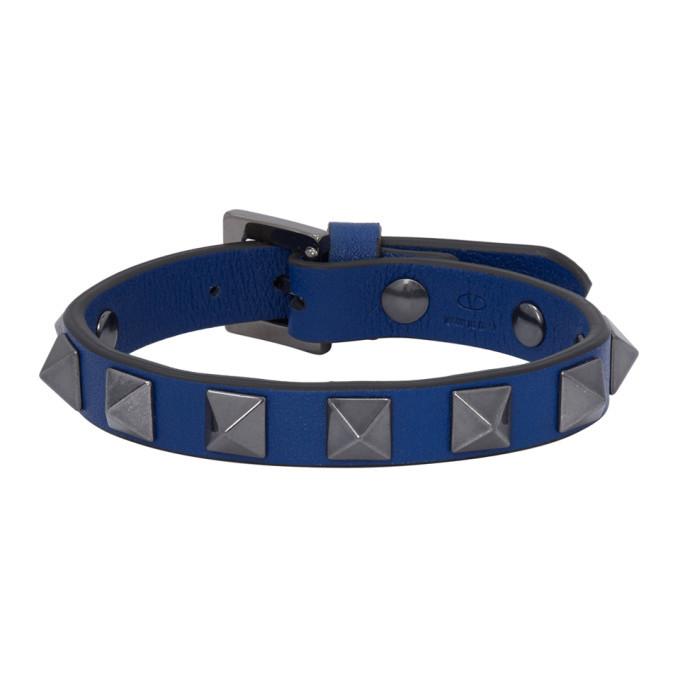 Photo: Valentino Blue Valentino Garavani Rockstud Bracelet